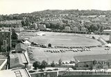 View of the Recreation Ground during the Bath Cricket Festival, 23 June 1976