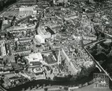 1965 Aerial view of Bath City Centre