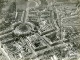 1937 Aerial view of the Circus and surrounding area, Bath, 19 May