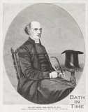 Engraving The Late Bishop Carr, Rector of Bath September 24th 1859