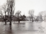 Recreation Ground from North Parade Bridge, Bath 1894