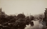 Pulteney Bridge from North Parade Bridge, Bath 1876