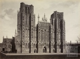West front, Wells Cathedral, Wells c.1870-1890