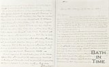 Letter to Taylor, Sydney Place, Saturday Night, May 14th 1836