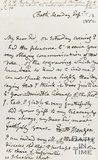 Letter Mangin to C.F. Taylor September 13th 1852
