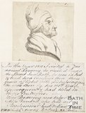 Sketch and story of Lazarus the 112 year old Jew, who resided near the Lamb Inn, Bath, 1812