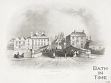 Entrance to Bath from Bristol, 1844.