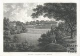 Prior Park in Somersetshire, the seat of Mrs Smith, 1785.