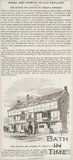 A newspaper article entitled Nooks and Corners of Old England - The George Inn, Norton St Philip