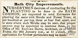 Newspaper article concerning Bath City Improvements