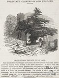 Newspaper article. Charlcombe Church near Bath 1845