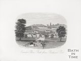 Camden Place, Bath from Bathwick Park 1860