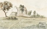 Watercolour of Brown's Cottage, Beacon Hill. 1832.