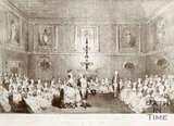 Representation of the Grand Assembly in the Upper Rooms, Bath. 1784.