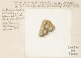 Sketch of iron studs found in Bath. 1852.