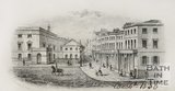 Southside of the Assembly Rooms and Saville Row, 1856