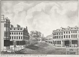 A view of Quiet Street, part of Milsom Street and part of Old Bond Street 1785