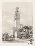 Exterior of Lansdown Tower 1844