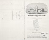 A prospectus for Lansdown Proprietary College 1856
