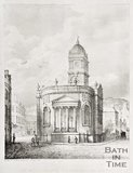 St. Michael's Old Church, Bath, c.1835
