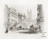 The Lion Hotel, Guildhall and Abbey Church, 1844