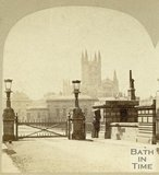 North Parade Toll Bridge, Bath c.1870