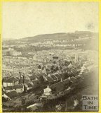 Bath from Beechen Cliff 1863