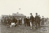Racegoers at Bath Racecourse, Lansdown, c.1901