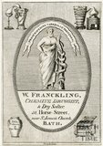 Trade Card for William FRANCKLING 52 Horse Street, Bath 1800?