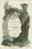 Trade Card for John HIBBERT 8 Chapel Row; Queen Square, Bath 1800
