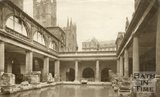 The Roman Baths, Bath, c.1940s
