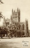 Bath Abbey and Orange Grove, Bath, c.1940s