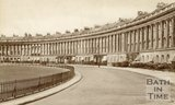 The Royal Crescent, Bath, c.1940s