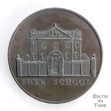 Bath token of the Free School, King Edwards, Broad Street 1797/8