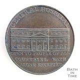 Bath token of the General Hospital - Mineral Hospital, Upper Borough Walls, 1797/8
