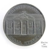 Bath token of the Private Baths, Stall Street, 1797/8