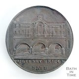 Bath token of Pulteney Bridge, 1797/8