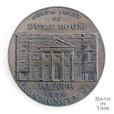 Bath token of the North Front of the Pump Room 1797/8