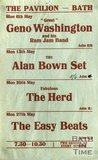 Flyer or Poster for Geno Washington and his Ram Jam Band, The Alan Bown Set, The Herd and The Easy Beats at The Pavilion, Bath, 1968