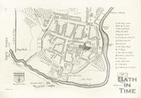Stuckley's Map of Aquae Solis (Bath), 1723