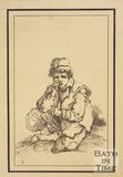 Rustic figure boy sketched from life by Thomas Barker, c.1800