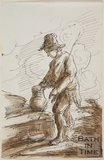 Sketch of an Italian peasant boy by Thomas Barker (1769 - 1849)