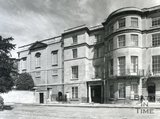 Exterior of 1 Sion Hill Place, Bath, facing South, 1956
