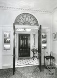 Entrance Hall to 1 Sion Hill Place, Bath, 1956