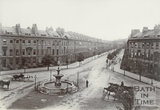 Great Pulteney Street and Laura Place, Bath c.1890