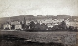 View from Bathwick up to Sham Castle, Bath c.1875