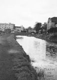 Looking upstream to Bathwick Hill Bridge, Bath 1956