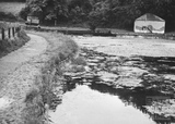 Pool at the west end of Dundas Aqueduct 1956