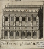 The East Side of Guild Hall, Bath. Gilmore 1694-1717 - detail
