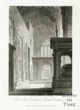 Prior Bird's Chapel, Bath Cathedral, Bath 1814